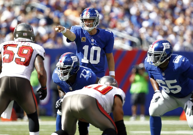 Giants vs Buccaneers