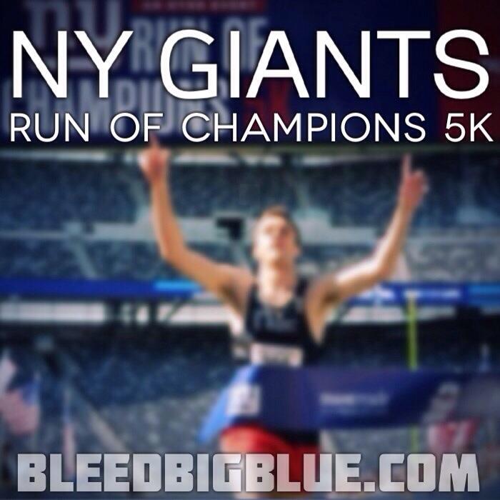 New York Giants Championship Run 5K
