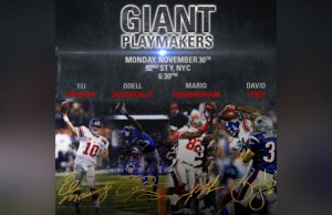 GIANT PLAYMAKERS EVENT
