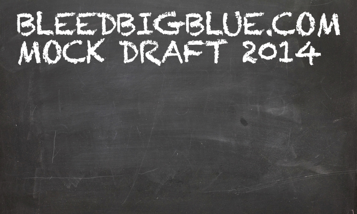 BleedBigBlue.com Mock Draft