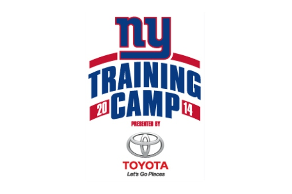 Giants Training Camp Schedule Announced