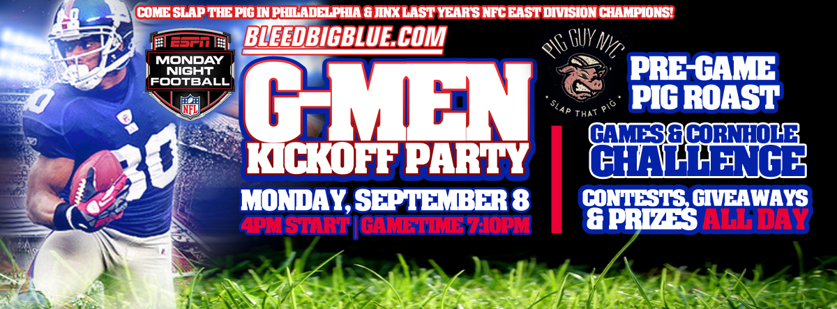 G-Men Kickoff Party