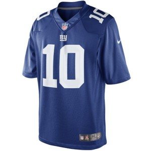 Eli Manning Nike Limited Jersey Front View