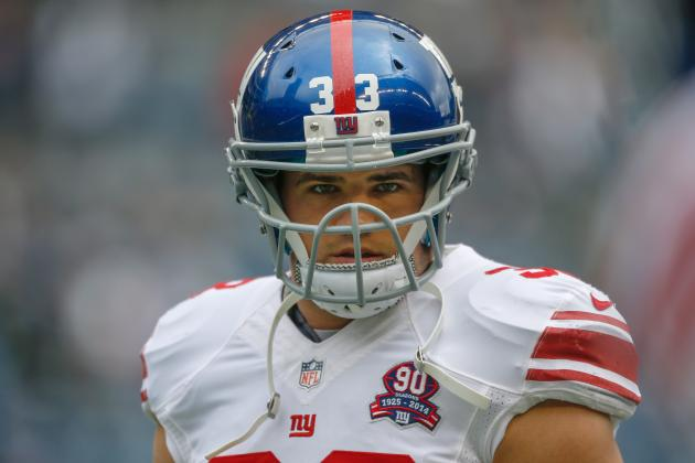 Giants Release RB Peyton Hillis
