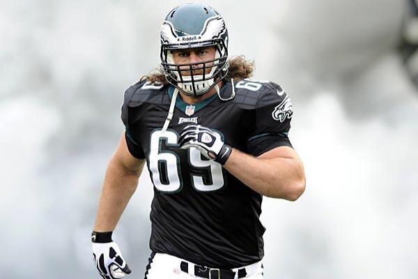 Eagles Cut Guard Evan Mathis