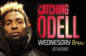 NFL Networks Catching Odell
