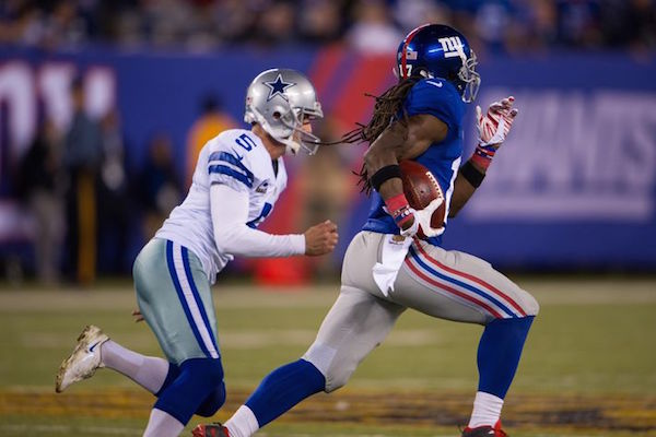 Giants Claim 1st place in NFC East Beating Dallas 27-20