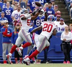 Giants Defeat Buffalo, 24-10