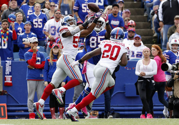 Giants Defeat Buffalo, 24-10