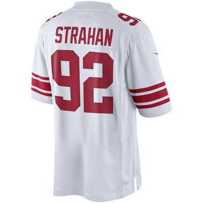 Michael Strahan Road Jersey | Back