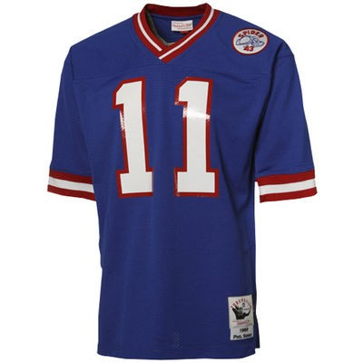 Phil Simms Mitchell & Ness Jersey | Front