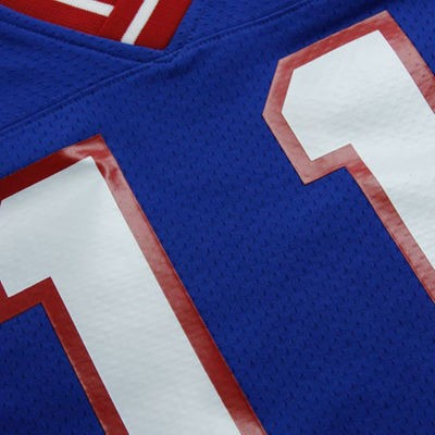Phil Simms Mitchell & Ness Jersey | Lettering Frontjpg