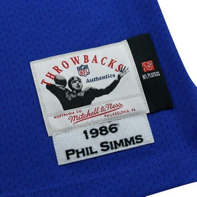 Phil Simms Mitchell & Ness Jersey | Mitchell & Ness Pactch