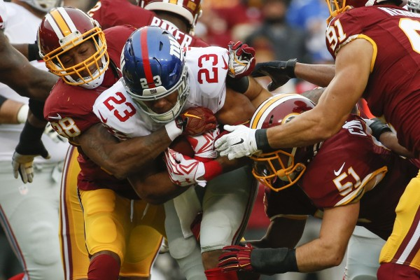 Giants comeback falls short vs Washington