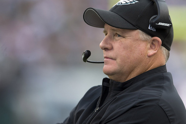 Eagles release Head Coach Chip Kelly