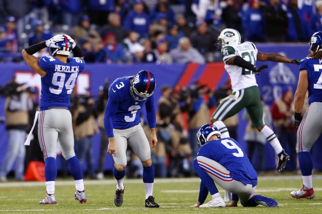 Giants Lose To Jets 23-20 In OT