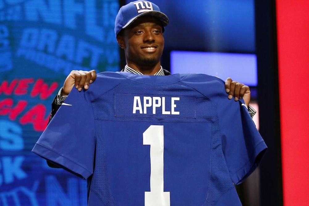 Giants-draft-ohio-state-cb-eli-apple-