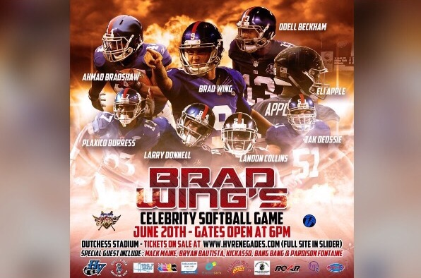 Brad Wing's Celebrity Softball Game