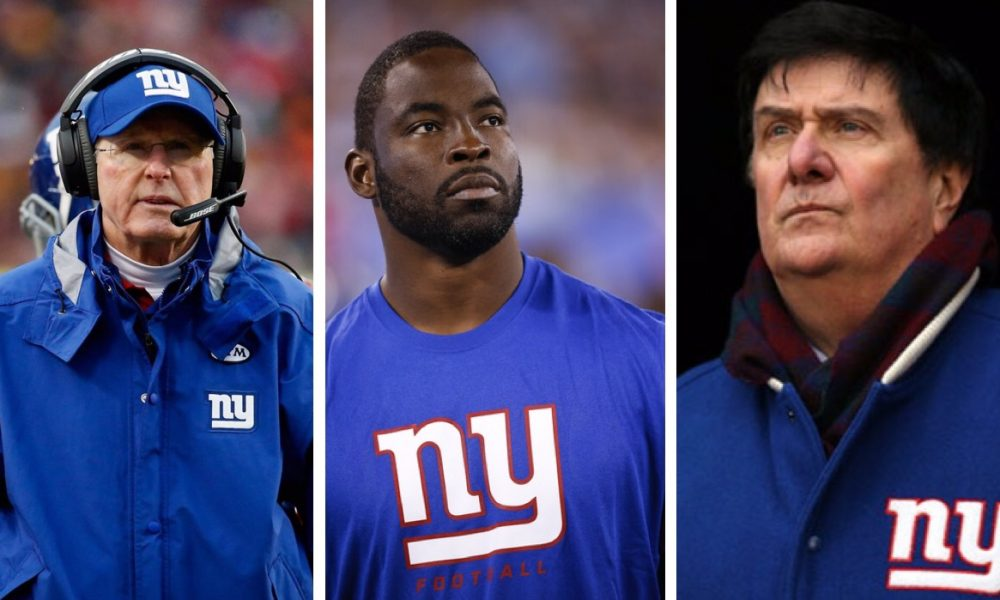 The Giants to induct Tom Coughlin, Justin Tuck, and Ernie Accorsi into The Ring of Honor