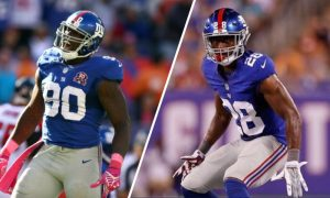 Jason Pierre-Paul And Eli Apple Autograph Signing