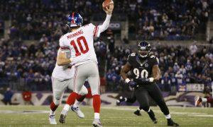 New York Giants Look To Spark Versus Ravens