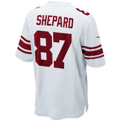 Sterling Shepard Road Jersey New York Giants (white) | front