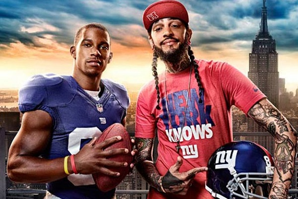 Travie McCoy New York Giants Fan