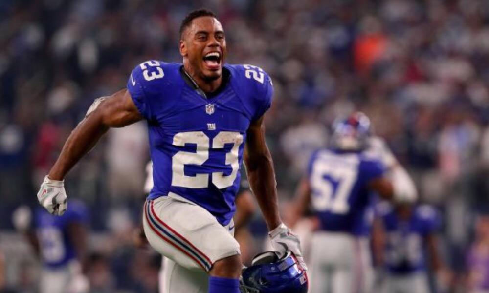 Giants Release Leading Rusher Rashad Jennings