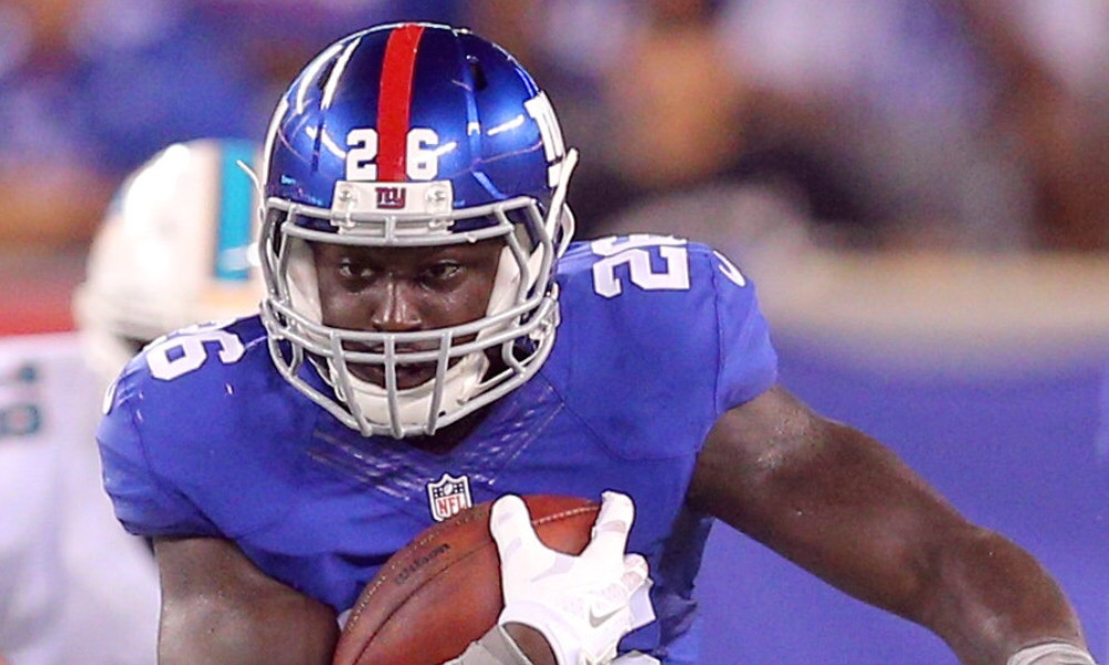 Orleans Darkwa re-signs with GMen