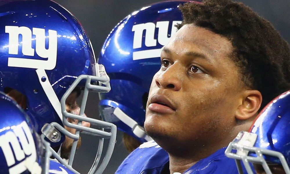 Giants Look To Resolve Their Left Tackle Issue