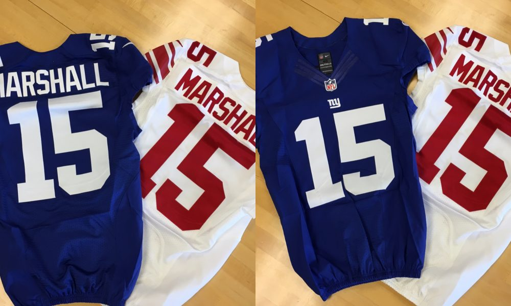 Brandon Marshall announces his New York Giants jersey number