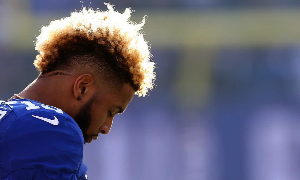 New York Giants pick up contract option on Odell Beckham.