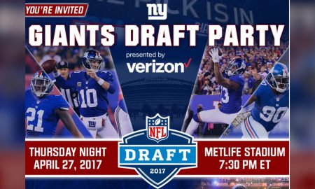 New York Giants 2017 Draft Day Party