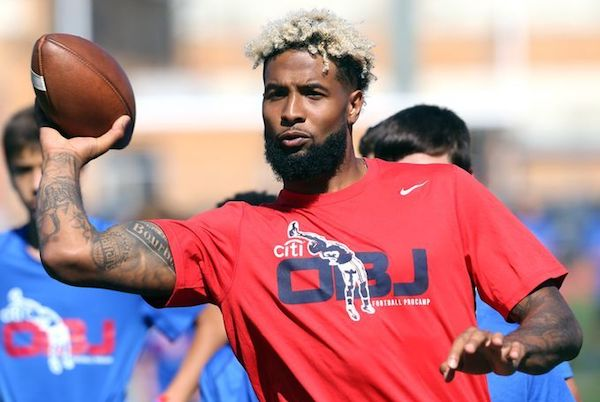 Odell beckham jr football procamp bleedbigblue odell beckham jr football procamp m4hsunfo