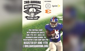 Orleans Darkwa 2017 Football Camp