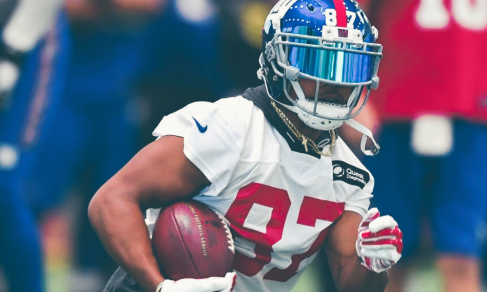reactions to Sterling Shepard injury scare