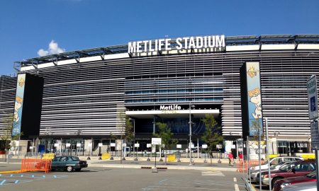 The spectacular MetLife Stadium home of the New York Giants