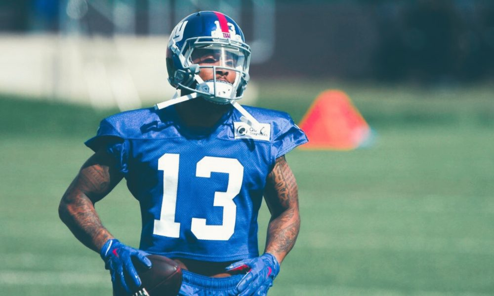 New York Giants Kick Off OTA's