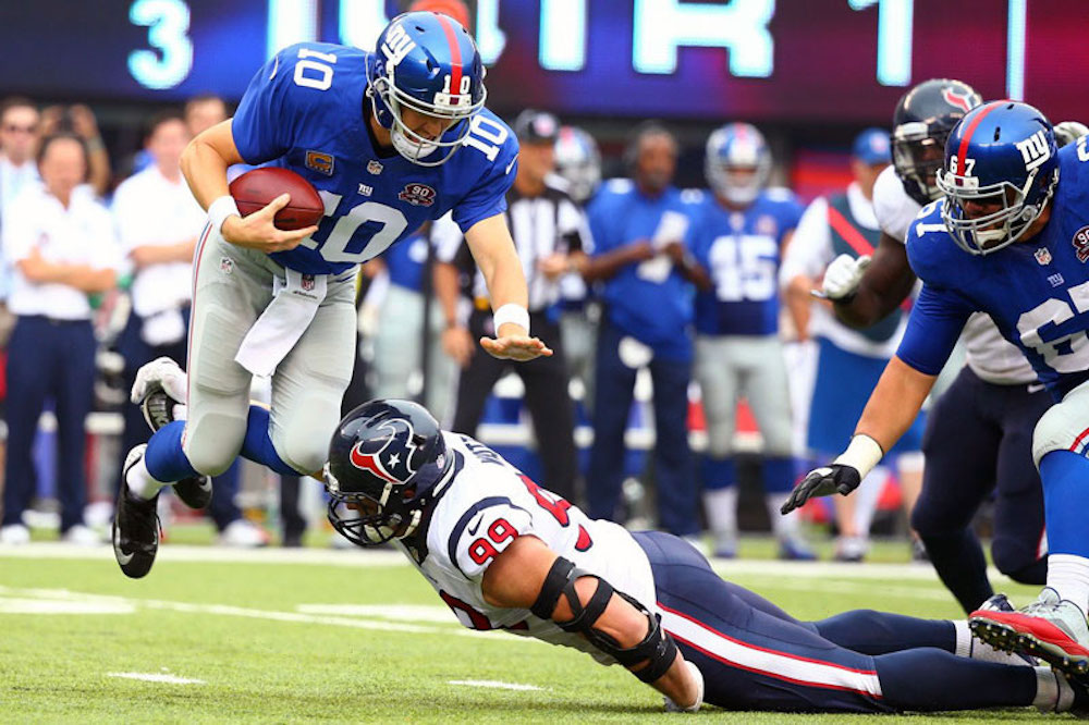 Giants Look To Spoil Texans Home Opener, Tickets Are In High Demand