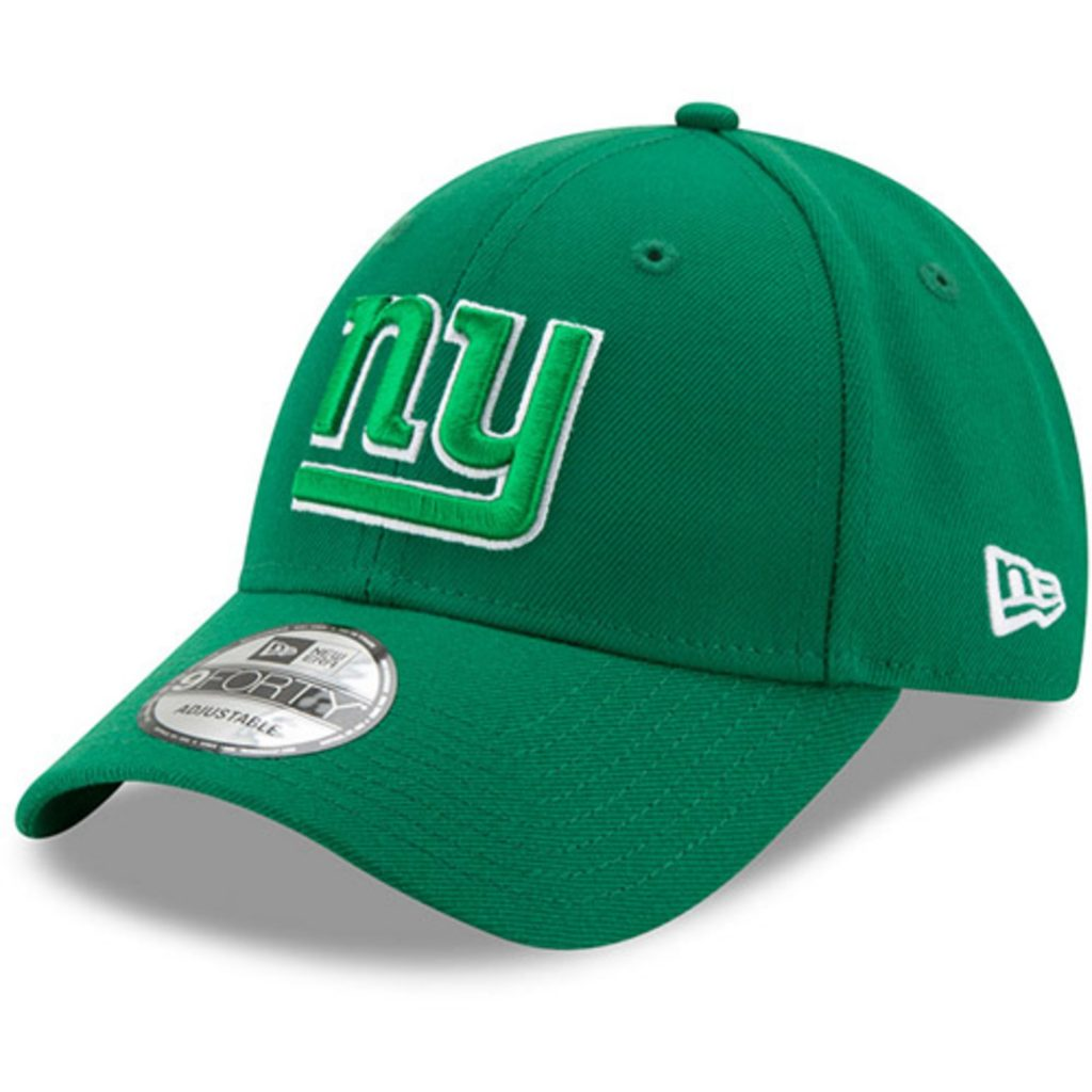 Men's New Era Kelly Green New York Giants St. Patrick's Day League 9FORTY Adjustable Hat