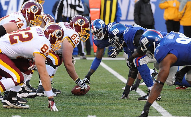 NYG vs Redskins