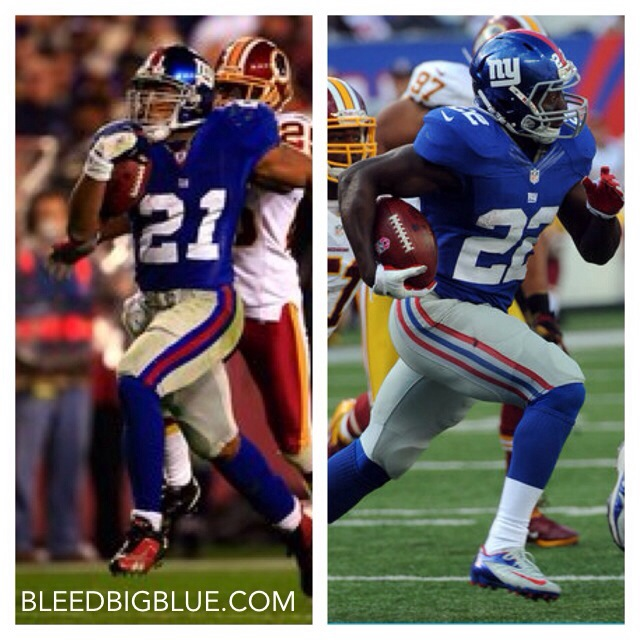 Tiki Barber High And Tight