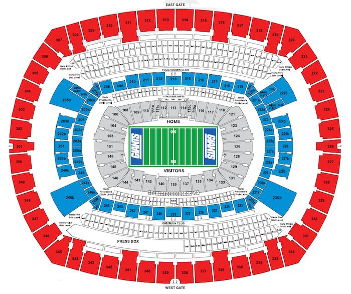 NY Giants Tickets