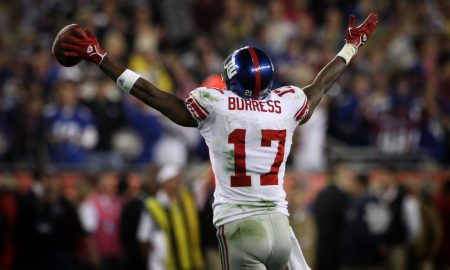 Plaxico Burress Autograph Signing