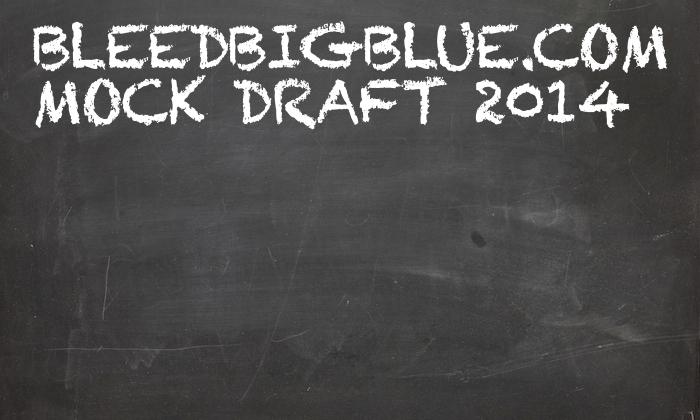 BleedBigBlue.com Mock Draft