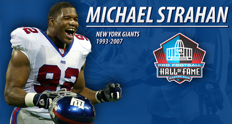 Michael Strahan Pro Football Hall of Fame Class of 2014