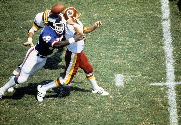 LT Hit On Joe Theismann