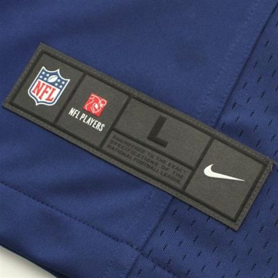 Eli Manning Nike Limited Jersey Tag View