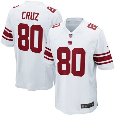 Victor Cruz Road Jersey New York Giants Nike Game Jersey Away White