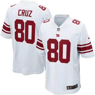 Victor Cruz Road Jersey New York Giants Nike Game Jersey Away White